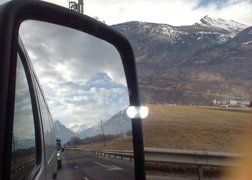 3.Transport wyposażenia łazienek do Szwajcarii - powrót do domu po rozładunku