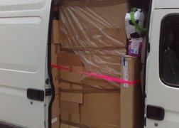 16. transport mebli z Poznania do Bremy - gdzieś w Niemczech na parkingu