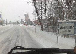 18. powrót do domu z Grossgottfritz - zima na 102!