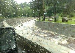 39.przewóz mebli na trasie Strupin Duży - Szklarska poręba - 600 km w deszczu - powrót do domu po rozładunku
