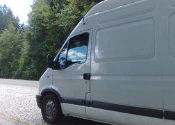 46. transport mebli z Warszawy do Zagrzebia - pauza na parkingu przed granicą austriacko-słoweńską.