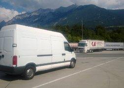 71. przeprowadzka z Bolzano do Stargardu Szczecińskiego - przerwa na parkingu pod Insbruckiem