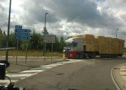 91. w drodze z Luxembourga do Reims po ładunek powrotny