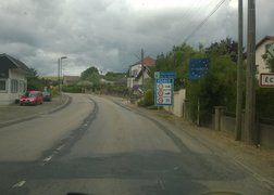 92. w drodze z Luxembourga do Reims po ładunek powrotny - na granicy belgijsko francuskiej